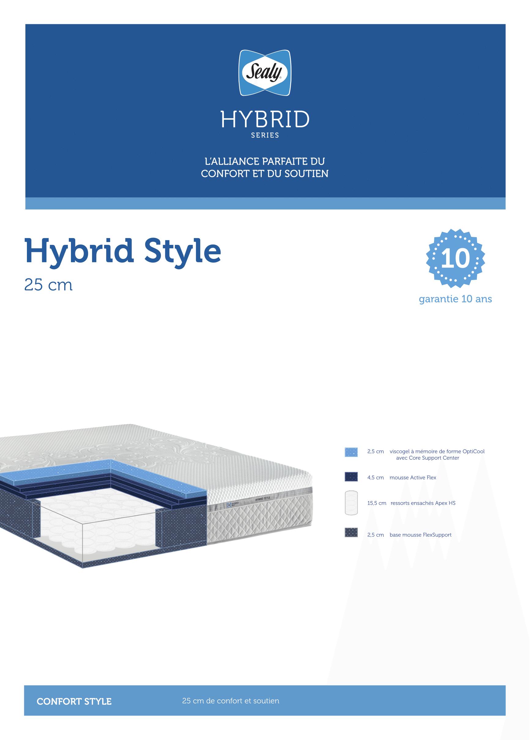 SEALY HYBRID STYLE